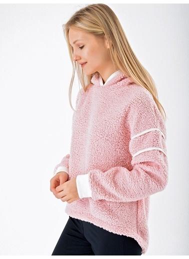 Goja Sport Sweatshirt Pembe
